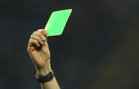 В Серии B игрок впервые получил зелёную карточку