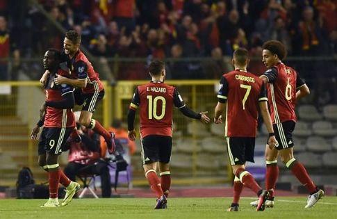 Бельгия разгромила Гибралтар