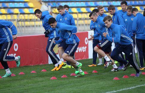 Сборная России U19 сыграла вничью с Бельгией в матче отбора ЧЕ-2017