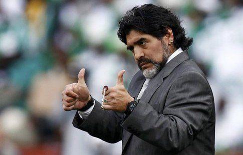 """Марадона: """"Месси не сильнее Роналду, и наоборот"""""""