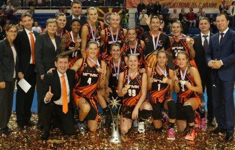 Баскетболистки УГМК выиграли Суперкубок Европы