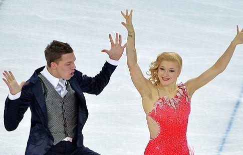 Российские фигуристы занимают второе место после короткого танца на Гран-при США