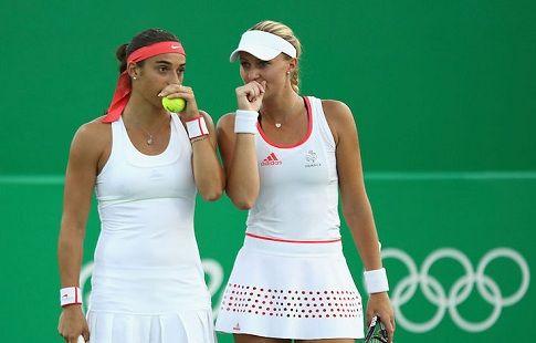 Гарсия и Младенович вышли в полуфинал Итогового турнира WTA в парах