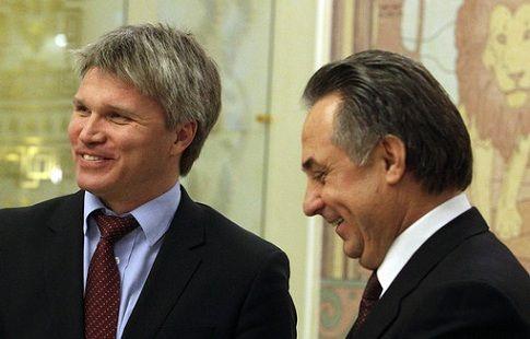 """Виталий Мутко: """"Надеюсь, Колобкову поможет приобретённый в Минспорте опыт"""""""