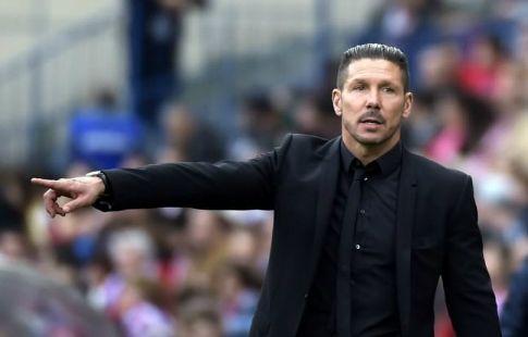"""Диего Симеоне: """"Мне не мешает, когда """"Атлетико"""" записывают в фавориты"""""""