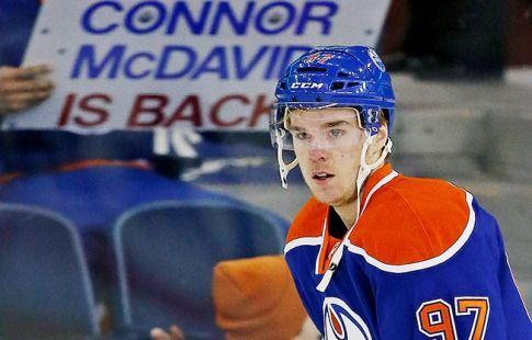 Макдэвид признан первой звездой октября НХЛ