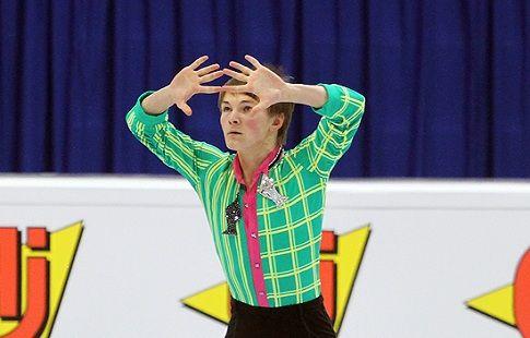 Михаил Коляда - третий после короткой программы московского этапа Гран-при