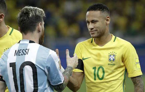 Сборная Бразилии не оставила шансов Аргентине. ВИДЕО