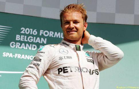 Нико Росберг выиграл третью практику Гран-при Бразилии
