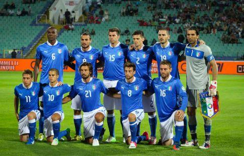 Сборная Италии забила 4 гола в первом тайме впервые за 29 лет