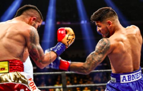 Абнер Марес отобрал у Хесуса Куэллара пояс WBA в полулёгком весе