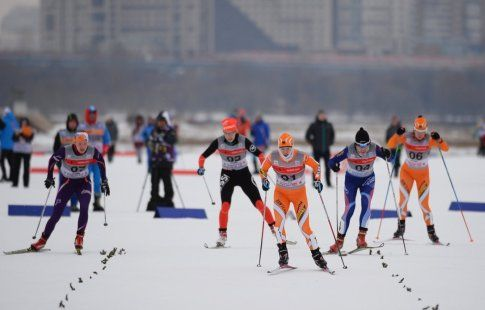 Ольга Царёва победила на чемпионате России по лыжным гонкам на дистанции 50 км