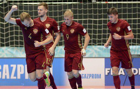 Сборная России по мини-футболу одержала три победы в трёх матчах в отборе Euro-2018