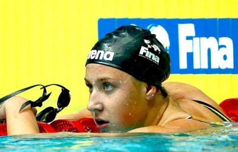 Устинова заявила, что не ставила цель отобраться на ЧМ на чемпионате России по плаванию