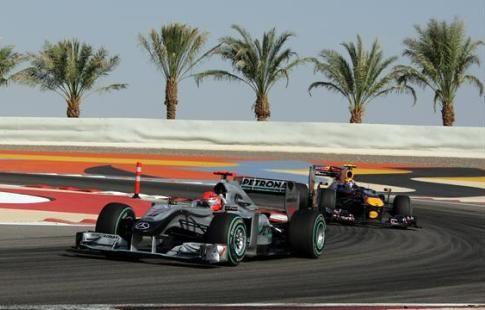"Боттас выиграл квалификацию ""Гран-при Бахрейна"""