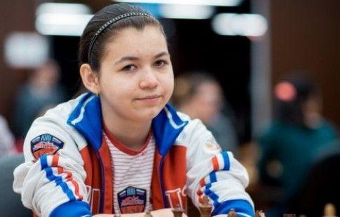 Горячкина сыграла вничью с грузинкой Дзагнидзе на женском ЧЕ по шахматам