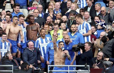 """ФК """"Брайтон"""" вышел в высший дивизион чемпионата Англии впервые с 1983 года"""
