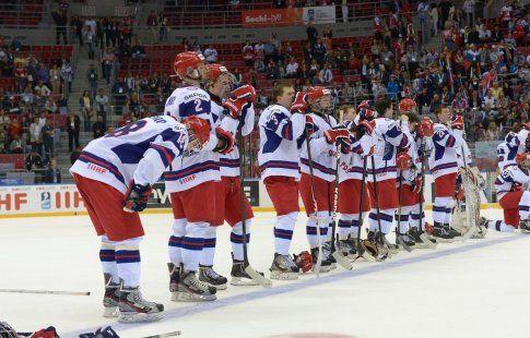 Сборная России обыграла Беларусь на юниорском ЧМ-2017 по хоккею