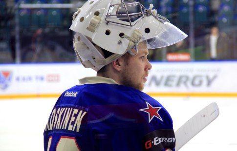 Вратарь ХК СКА Микко Коскинен не сыграет за сборную Финляндии на ЧМ