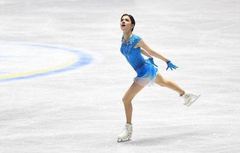 Медведева выиграла короткую программу на командном ЧМ с мировым рекордом