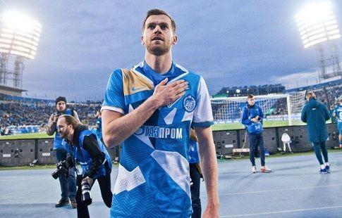 """Николас Ломбертс: """"Спасибо всем за огромные почести, оказанные мне вчера на """"Петровском"""""""