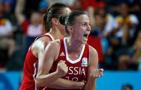 Женская сборная России по баскетболу 3х3 вышла в четвертьфинал чемпионата Европы