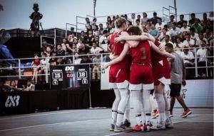 Женская сборная России 3х3 вышла в полуфинал чемпионата Европы