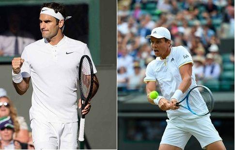Роджер Федерер продолжает борьбу за 8-й титул на Уимблдоне после победы над Томашом Бердыхом