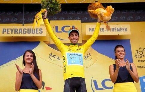 """Ару посвятил лидерство в общем зачёте """"Тур де Франс"""" травмированным гонщикам """"Астаны"""""""