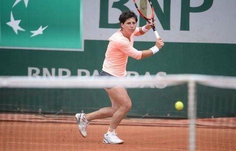 Суарес-Наварро отдала всего один гейм Бек в первом круге турнира в Бухаресте