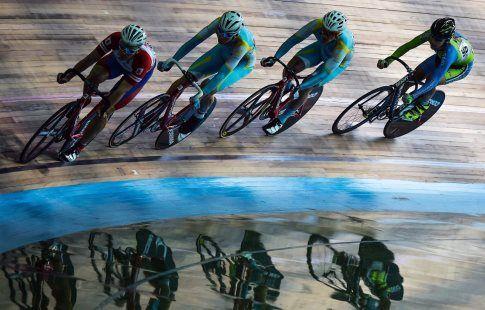 Павел Перчук победил в гите на молодёжном ЧЕ по велоспорту на треке