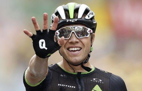 """Норвежец Боассон Хаген выиграл 19-й этап веломногодневки """"Тур де Франс"""""""