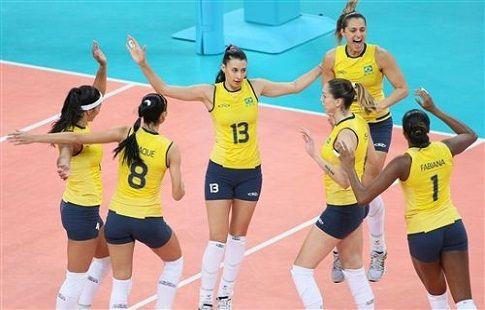 Бразилия одолела Нидерланды в матче Гран-при в Куябе