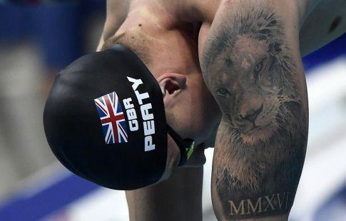 Британец Пити установил мировой рекорд в плавании на 50 м брассом