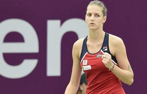 Кристина Плишкова не смогла завершить матч второго круга турнира в Наньчане