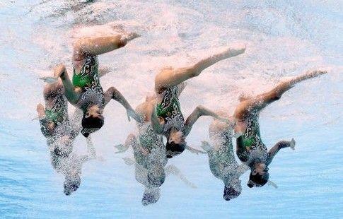 Колобков наградил членов сборных РФ по синхронному плаванию и прыжкам в воду