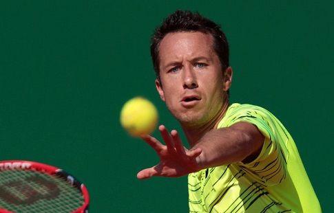 Кольшрайбер вышел в четвертьфинал турнира в Гамбурге, обыграв Симона