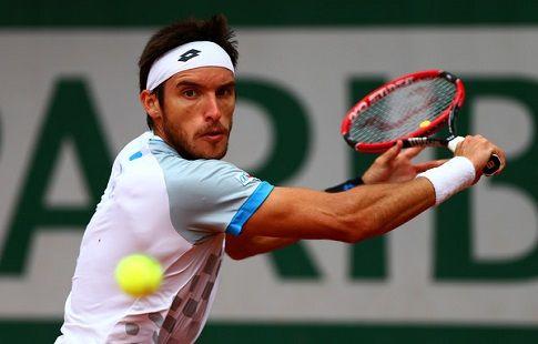 Майер вышел в четвертьфинал турнира в Гамбурге, обыграв Штруффа