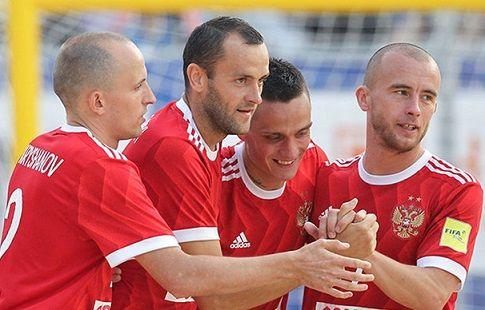 Российская сборная по пляжному футболу обеспечила себе участие в Суперфинале Евролиги 2017 года