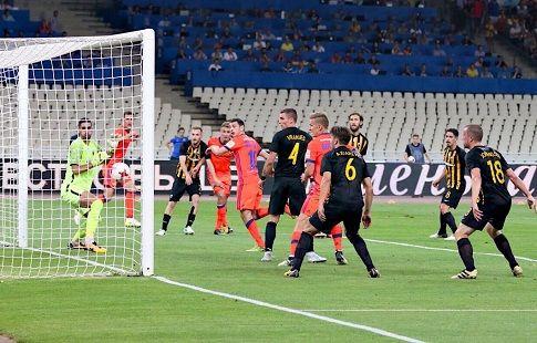 ЦСКА по сумме двух встреч обыграл греческий АЕК и вышел в следующую стадию Лиги Чемпионов