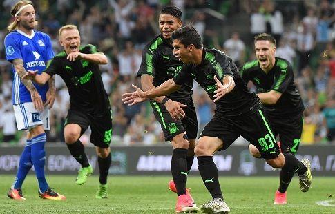 """""""Краснодар"""" спокойно следует в плей-офф раунд Лиги Европы"""