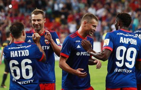 Гинер в раздевалке поздравил ЦСКА с проходом АЕК в квалификации Лиги чемпионов