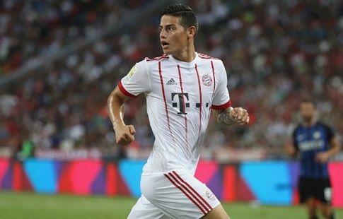 Хамес Родригес и Тьяго Алькантара пропустят матч за Суперкубок Германии