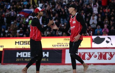 Красильников и Лямин настраиваются на победу в ЧМ по пляжному волейболу