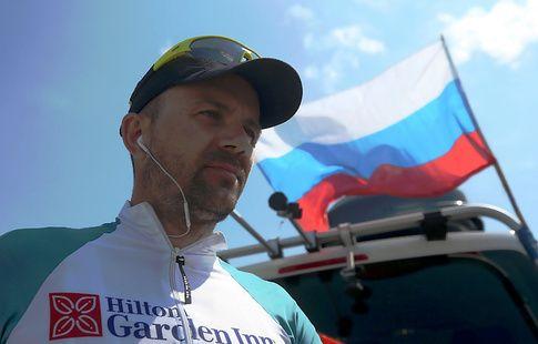 Россиянин Щебелин выиграл 12 этап веломарафона Москва – Владивосток
