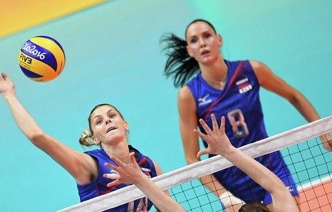Фетисова, Кошелева и Гончарова вошли в состав женской сборной России по волейболу на ЧЕ
