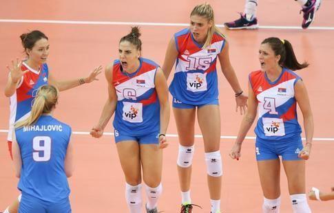 Женская сборная Сербии победила голландок и стала чемпионом Европы по волейболу
