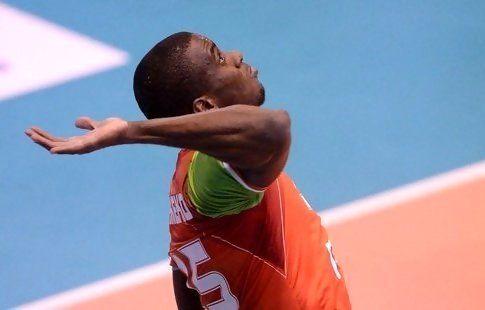 Камехо стал самым результативным игроком пятого тура волейбольной Суперлиги