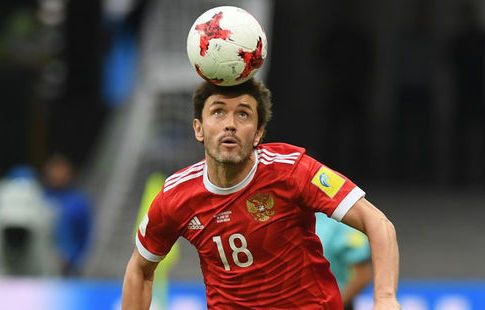 Жирков пропустил тренировку сборной России, Головин работал индивидуально. ВИДЕО
