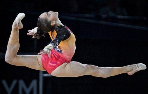 Гимнастка Ерёмина стала пятой на ЧМ в упражнении на бревне